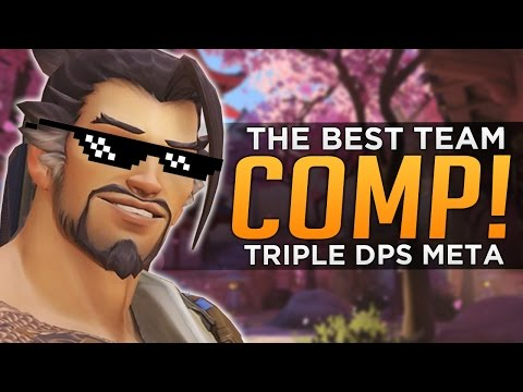 Overwatch: The BEST Team Comp! - Why 3DPS is So GOOD!