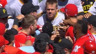 8/2/15: Pirates blank Reds as tempers flare late