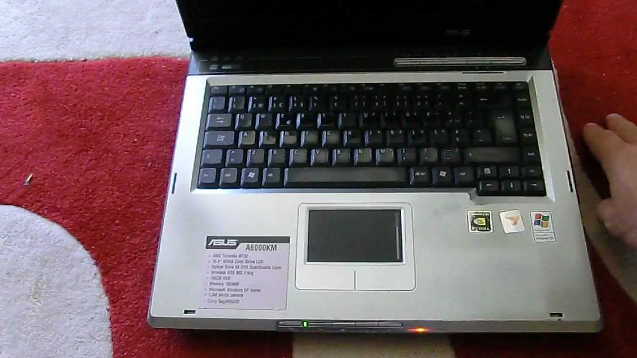 NEW DRIVER: ASUS A6KM
