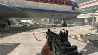 Call of Duty Modern Warfare 2 - No Russian - Airport Mission gameplay