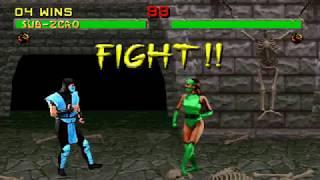 Mortal Kombat II (Arcade - Rev. 3.1) - [Oponente oculto Jade]