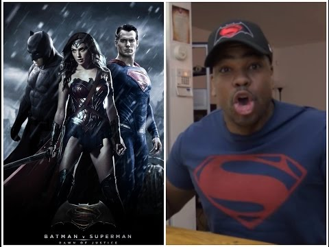 """Batman v Superman: Dawn of Justice MOVIE REVIEW!!!  """"MULLET STYLE"""""""