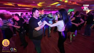 Mag El Hani & Claudia - Salsa Social Dancing @ WARSAW SALSA FESTIVAL 2018