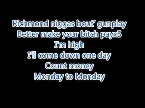 Berner - Gunplay Ft. Wiz Khalifa & Hollywood (Remix) Lyrics