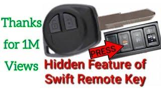 Hidden Features of Remote Key of Maruti Suzuki Swift (Hindi) || #RDxAutoStyling