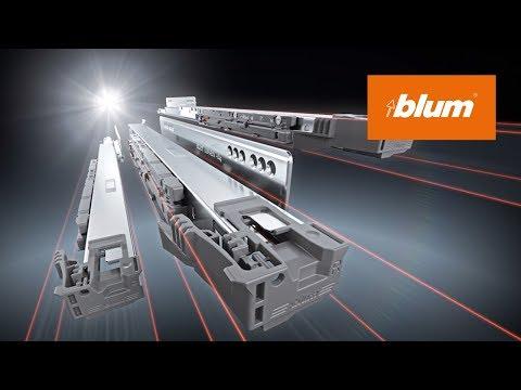 BLUMOTION S: One runner - three motion technologies | Blum