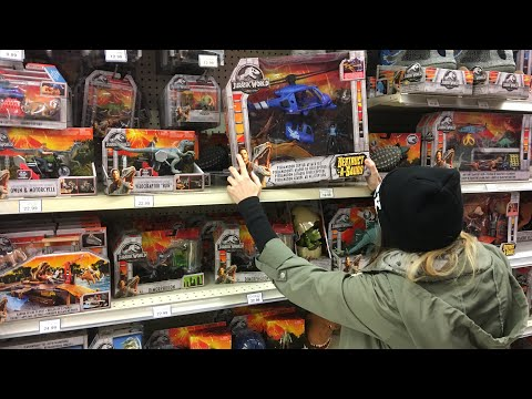 What Toys r Us Canada has that you DON'T! Jurassic World Fallen Kingdom Vlog