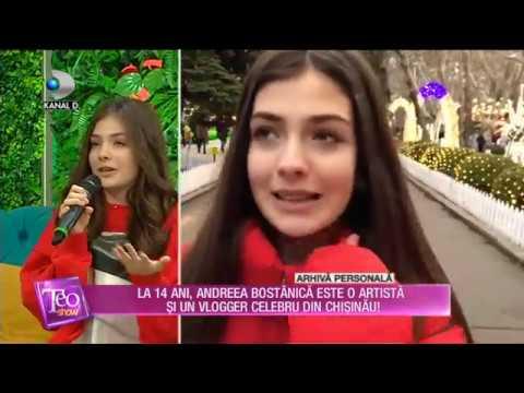 Teo Show (17.01.2019) - La 14 ani, Andreea Bostanica este o artista si un vlogger celebru!