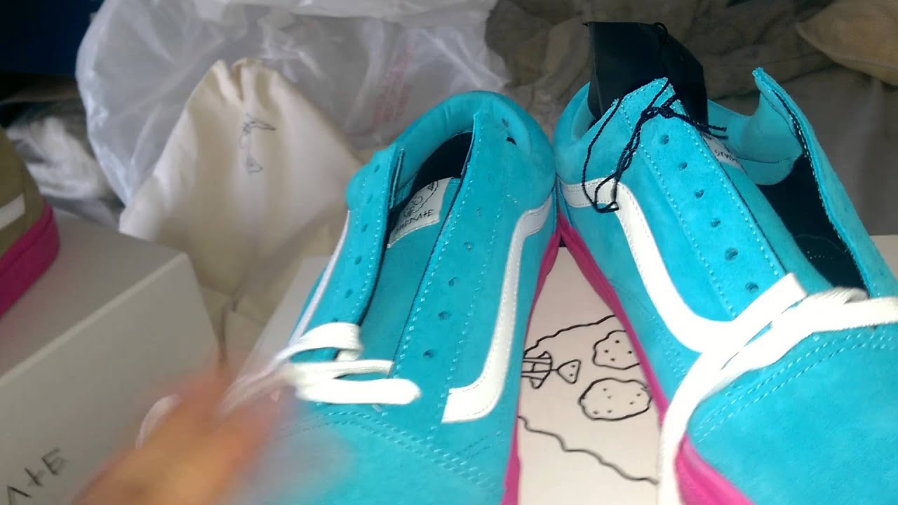 a65037c3d8ee Golf Wang X Vans Syndicate Collaboration Unboxing - YouTube