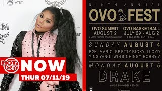 Drake Announces OVOFest Lineup + Lil Kim Says She Is Done Doing Press