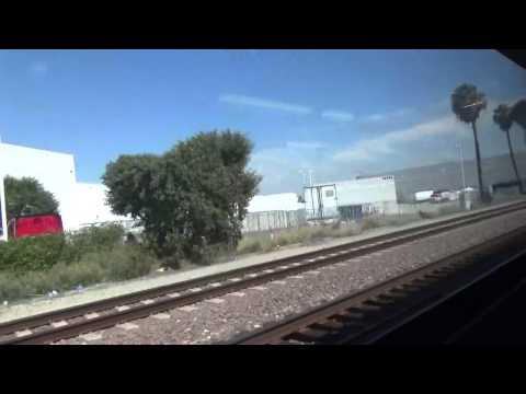 metrolink ride from la union station to anaheim station