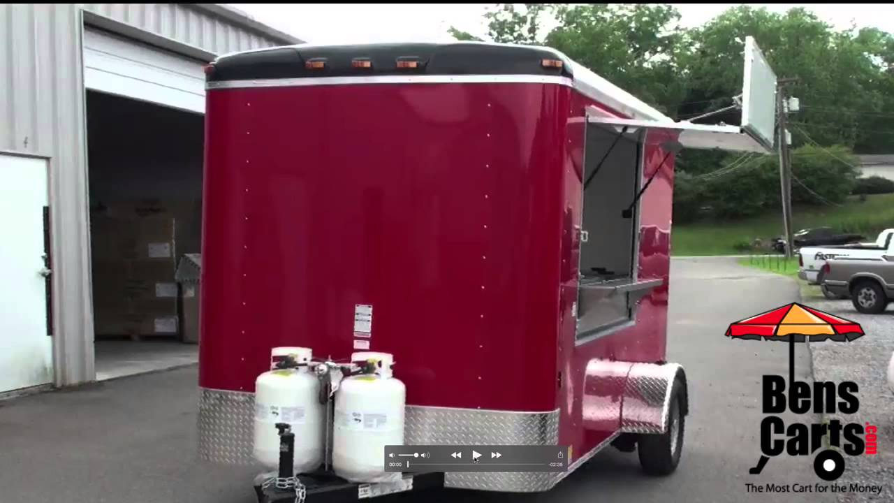Hot Dog Carts For Sale - Stand King Concession Trailer