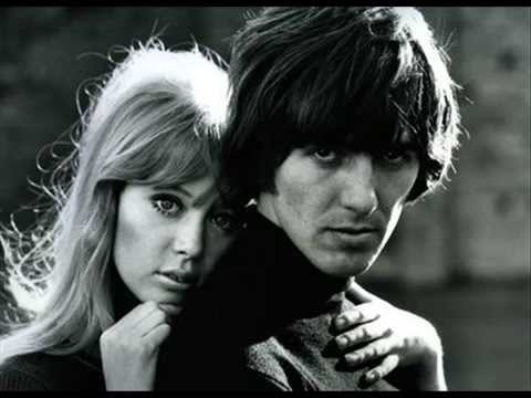 George Harrison sings