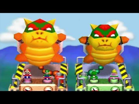 Mario Party 2 - All 2 Vs. 2 Minigames