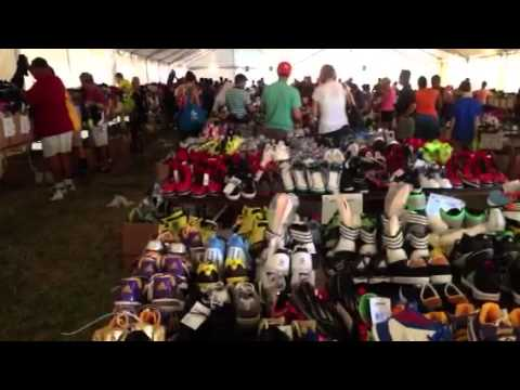 & Adidas tent sale :) - YouTube