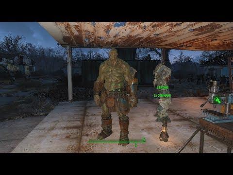 Fallout 4 Ep 161 Броня для Супер Мутанта