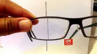 How to measure PD or take PD measurement from your existing eyeglasses LOVEeyeglasses com