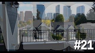 Vlog #21 - Walk to Downtown Bellevue!