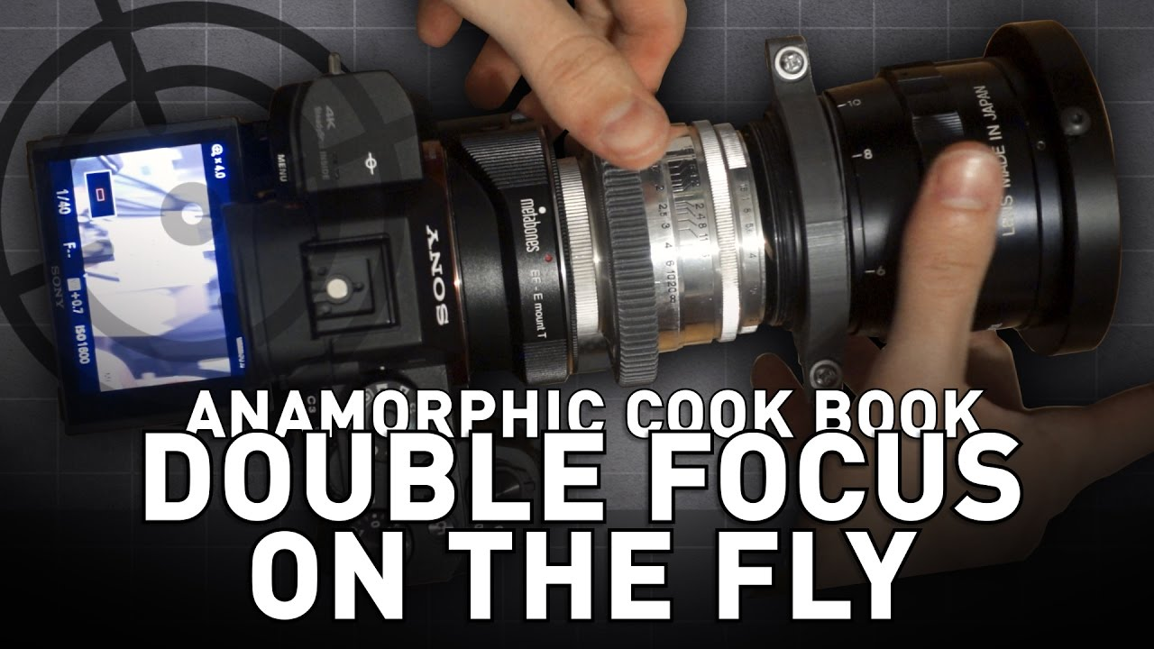 Anamorphic Double Focus on The Fly!