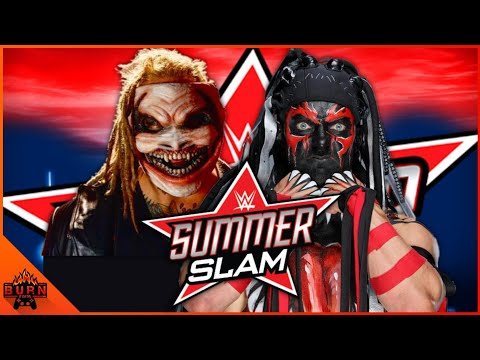 WWE 2K19 BRAY WYATT VS DEMON FINN BALOR | SUMMERSLAM 2019 |