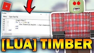 NEW ROBLOX EXPLOIT - TIMBER (TRIAL!) FULL LUA EXE | GRABKNIFE, 666, TITANS & MUCH MORE!!