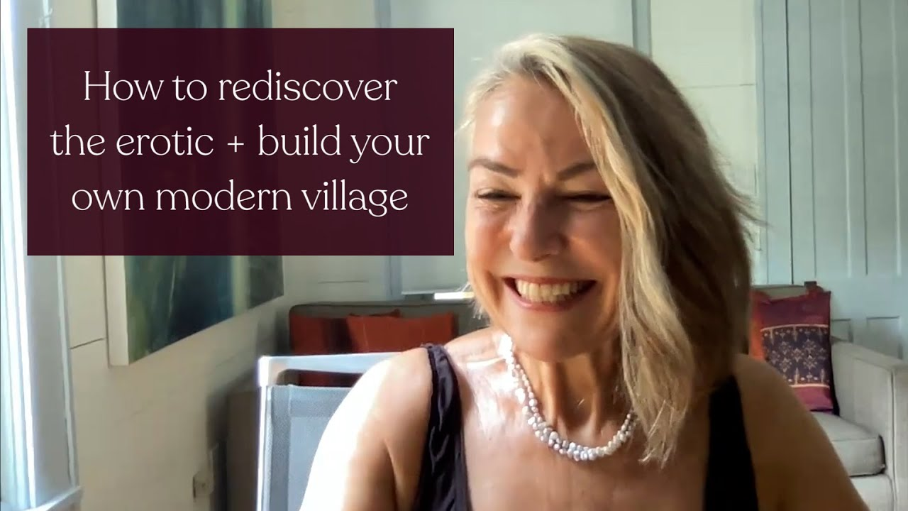 Esther Perel on helping moms rediscover the erotic and build their own modern village