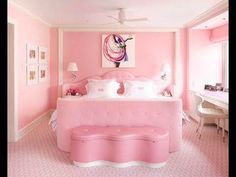 55 Bedroom Design Ideas with Carpet and Pink Walls 2016 - YouTube