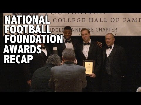 National Football Foundation Middle Tennessee Division Awards Recap