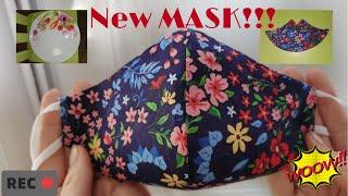 Как сшить маску без выкройки Очень быстрый и легкий способ