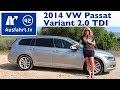 2014 VW Passat Variant TDI - Fahrbericht der Probefahrt / Test / Review (German)