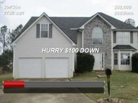 Ellenwood Ga Ren to own homes atllease2own.com | 706 840-4663
