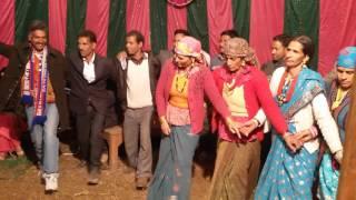 garhwali , himachali and jaunsawari dance @ purola ranwai uttarkashi