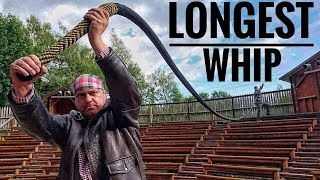 The Longest Functional Whip In The World VS EXTREME Challenge (World Record)