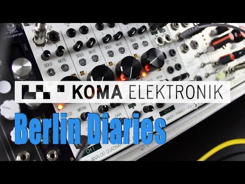 Berlin Diaries: Koma Elektronik