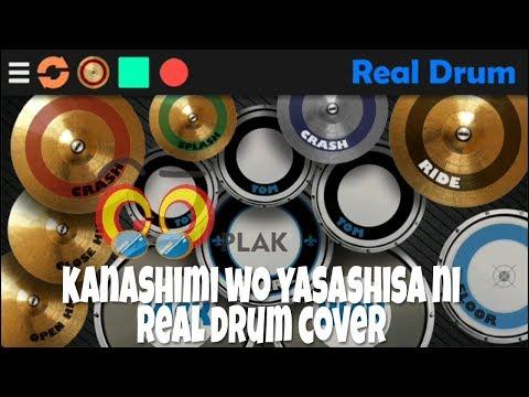 kanashimi wo yasashisa ni Ost naruto Real Drum cover   goplak ngapak