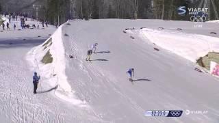 Charlotte Kalla tar OS-Guld i Sotji 2014 - Hela Spurten [HD]
