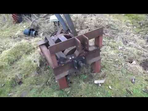 Wood chipper made out of mostly scrap