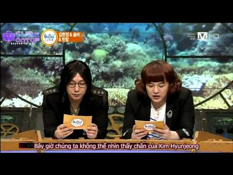 [SubzOnTOP][Vietsub] 130325 Beatles Code 2 - TEEN TOP, Solbi, Kim Hyunjeong (FULL) [2/3]