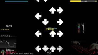 StepMania: Regret 1.7x - 94.51% AA live play