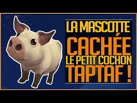 LA MASCOTTE CACHEE TAPTAF LE PETIT COCHON  BFA