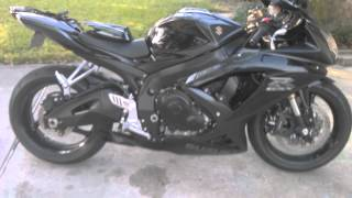 Voodoo exhaust walk around 08 GSXR 600