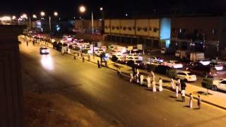 Police chase drifters in Riyadh, Saudi Arabia