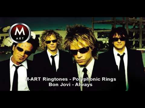 Bon Jovi - Always: Polyphonic Ring M-Artstudio Ringtones