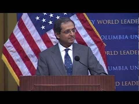 Citi: CEO Vikram Pandit at World Leaders Forum, Columbia University, Part 1