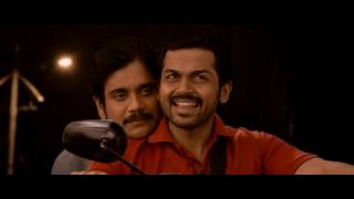 Nagarjuna's Oka Life Song vlc record 2016  Oopiri 2016 Telugu 720p WEB DL x264 AAC DDR mkv