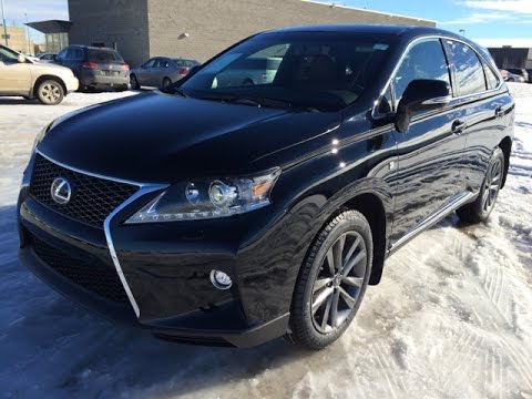 Lexus Rx F Sport >> New Black on Red 2015 Lexus RX 350 AWD - F Sport Review ...