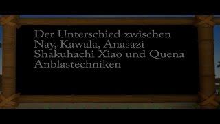 Die Anblaskerbe bzw. Kante bei Shakuhachi, Nay, Xiao, Quena und Anasazi