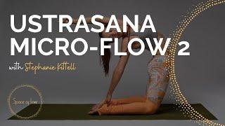 USTRASANA MICRO-FLOW 2 w/ Space of Love Co-Founder Stephanie Kittell