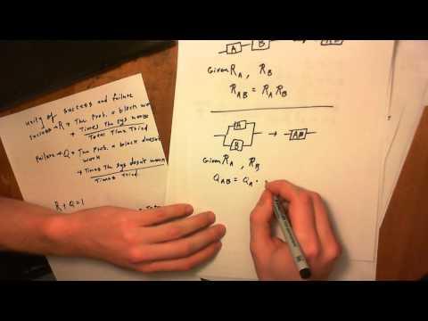 PRA Reliability Block Diagram: Equivalent Reliability and Conditional Reliability Tutorial
