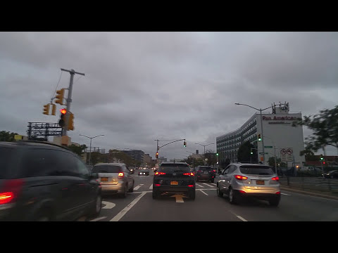 Driving from Long Island City to Forest Hills in Queens,New York
